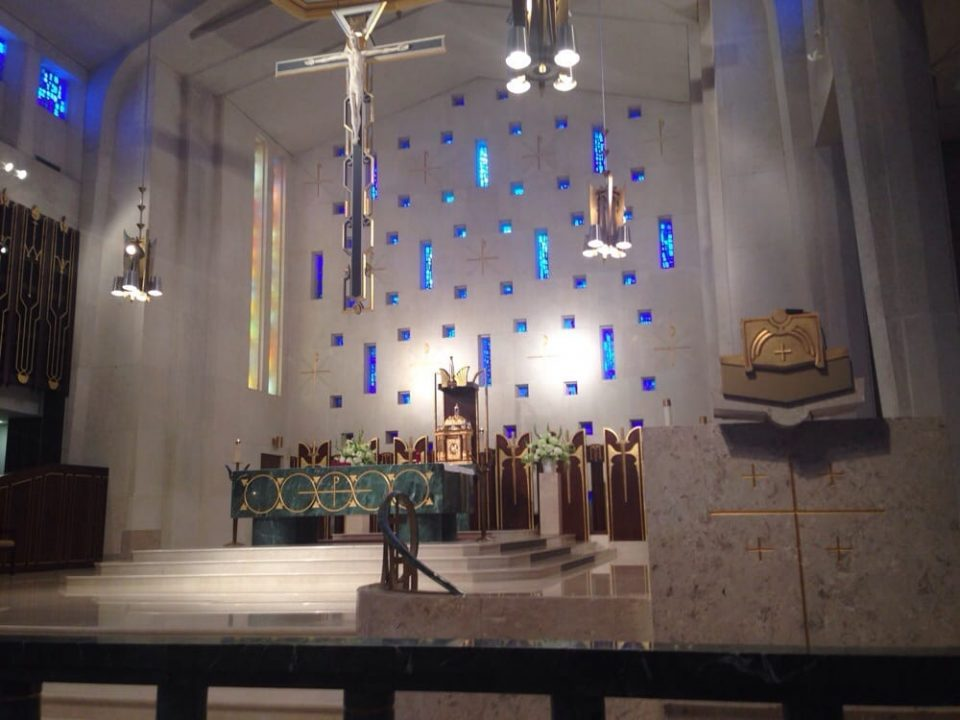 Interior Church lighting