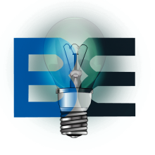 Britain Electric bulb logo