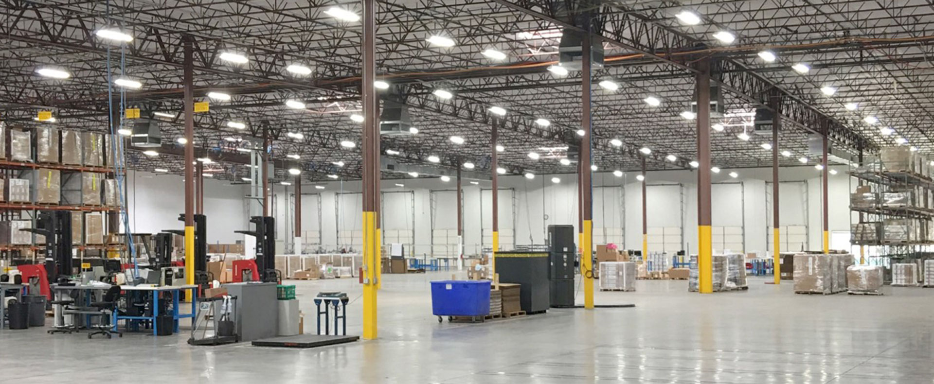 Interior Houston Electrical Warehouse
